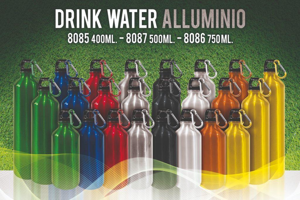 Borracce in alluminio colorate da 500ml e 750 ml