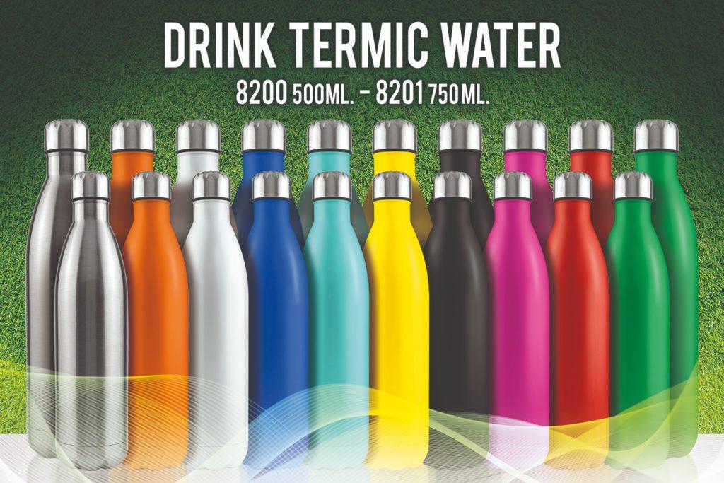 Borracce termiche colorate